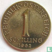 Austria 1 schilling 1962