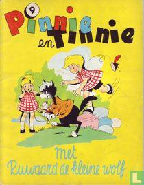 Pinnie en Tinnie met Ruwaard de kleine wolf
