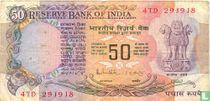 India 50 Rupees
