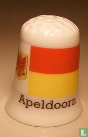 Apeldoorn gemeentevlag vingerhoedje