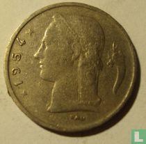 België 1 franc 1954 (NLD)