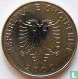 Albanië 5 leke 2000