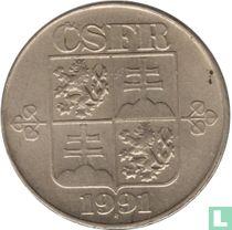 Tsjecho-Slowakije 2 koruny 1991 (Kremnica)