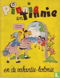 Pinnie en Tinnie en de vakantie-kolonie
