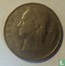 België 1 franc 1962 (NLD)