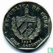 Cuba 10 centavos 1996