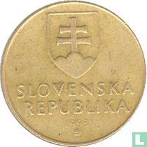 Slowakije 1 koruna 1993