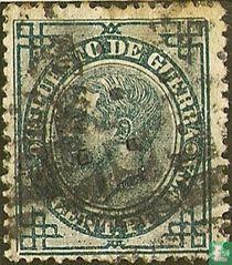 Oorlogsbelasting. Alfons XII