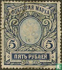 Zegeltypes van  1906