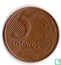 Brazilië 5 centavos 1998