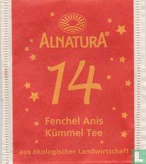 14 Fenchel Anis Kümmel Tee