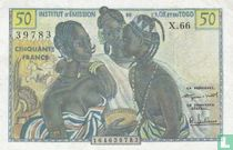 French West Africa 50 Francs