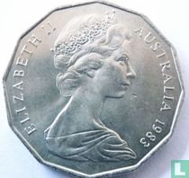 Australia 50 cents 1983