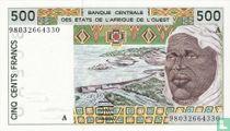 West Afr. Stat. 500 Francs A