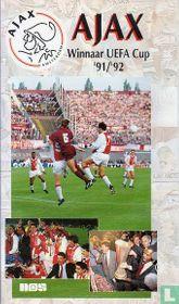 Ajax Winnaar UEFA Cup '91/'92