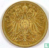 Austria 10 corona 1905