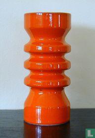 Oranje vaas