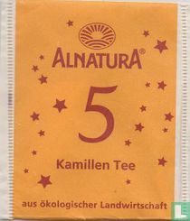 5 Kamillen Tee