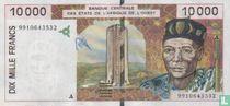 West Afr. Stat. 10.000 Francs A