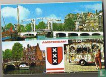 Boekje met 9 zichten van Amsterdam (compleet)