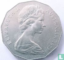 Australia 50 cents 1973