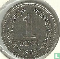 Argentinië 1 peso 1959
