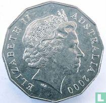 "Australia 50 cents 2000 ""Millennium Year"""