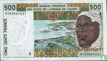 West Afr. Stat. 500 Francs S