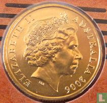 "Australië 1 dollar 2006 (S) ""50 years of Australian television"""