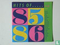 Hits of . . . '85 en '86