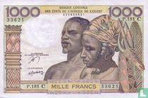 West Afr. Stat. 1000 Francs C