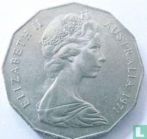 Australia 50 cents 1971