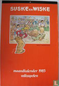 Maandkalender 1985 volksspelen