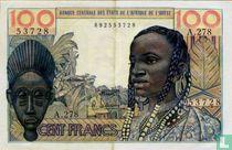 West Afr. Stat. 100 Francs