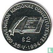 """Argentinië 2 pesos 1994 """"National Constitution Convention"""""""