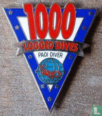1000 logged dives Padi diver