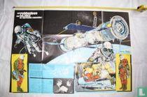 Reuze-poster Vostok Cabine