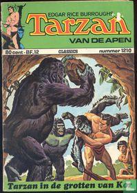 Tarzan in de grotten van Kor