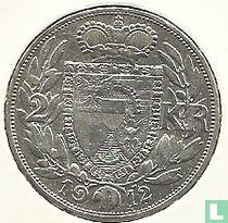 Liechtenstein 2 kronen 1912