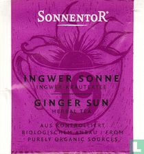 19 Ingwer Sonne / Ingwer-Kräutertee | Ginger Sun / Herbal Tea