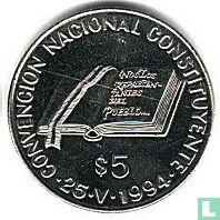 """Argentinië 5 pesos 1994 """"National Constitution Convention"""""""