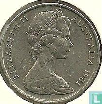 Australië 10 cents 1981