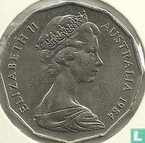 Australia 50 cents 1984