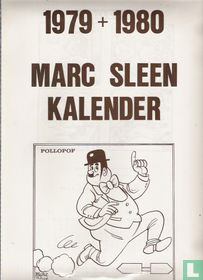 1979 + 1980 Marc Sleen kalender