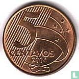 Brazilië 5 centavos 2004