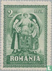 Allegorie van de Roemeense eenheid