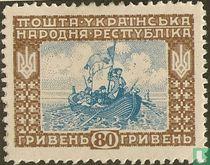 Revolutionairen in een boot