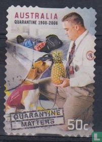 Quarantaine-wet 100 jaar