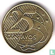 Brazilië 25 centavos 1999