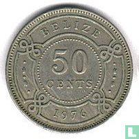 Belize 50 cents 1976